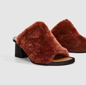 Zara mule size 8